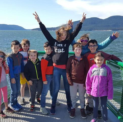 Canoe Island Field Trip