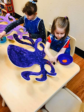 Week 1 : June 28th - July 2nd Arts and Crafts: Creativity Under the Sea