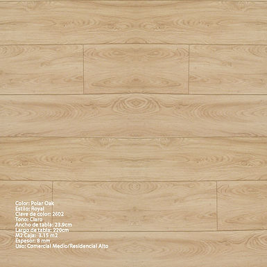Piso Laminado Terza Royal 12mm