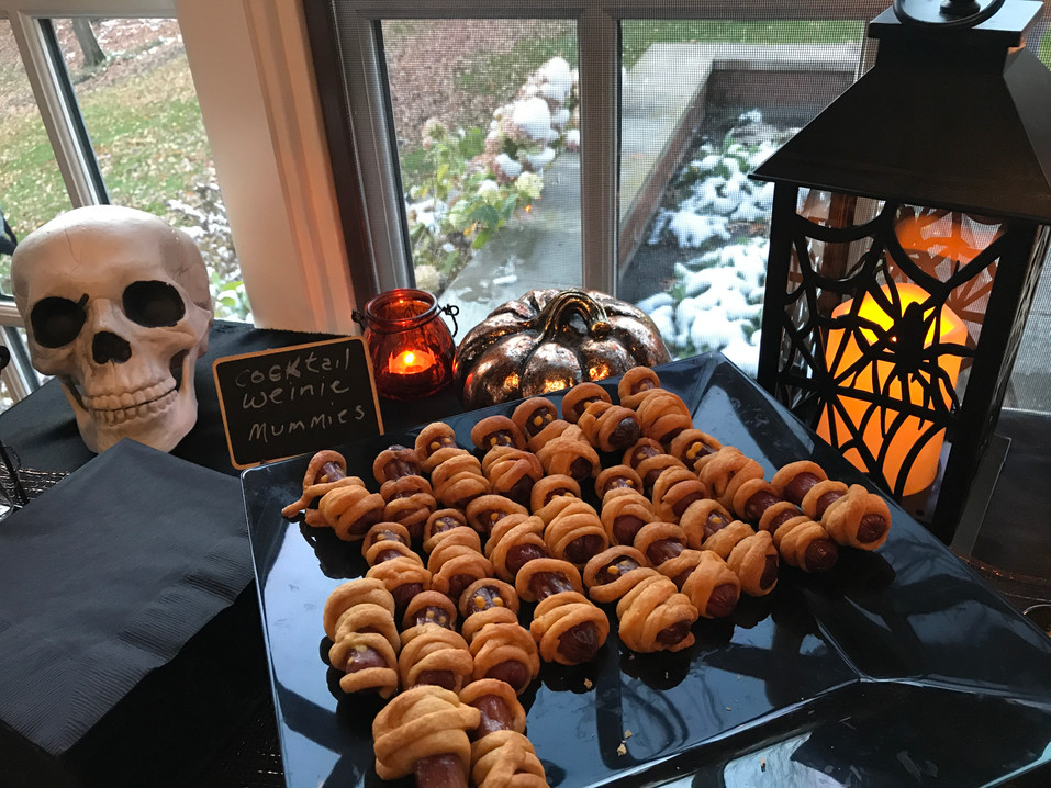 Halloween Party    Lila Buffet Styling (