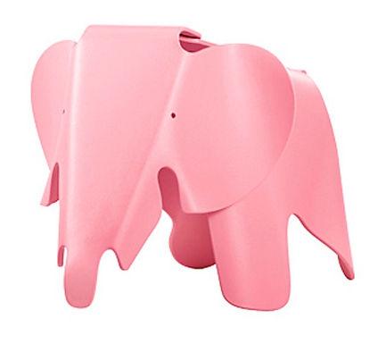 Taburete Elephant Rosa