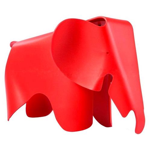 Taburete Elephant Rojo