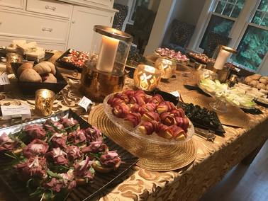 Great Gatsby Party  Lila Buffet Styling