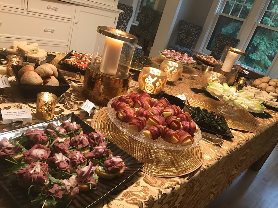 Great Gatsby Party  Lila Buffet Styling