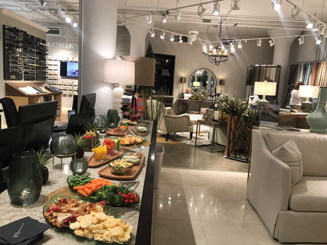 Lila Buffet Styling Company Spring event