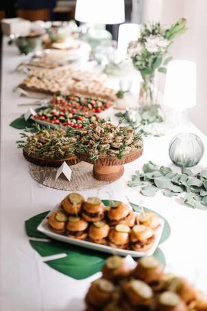 Lila Buffet Styling Wedding appetizers.J