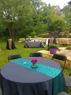 Lila Buffet Styling Backyard 40th bday p