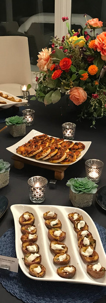 Appetizer Buffet - In-home Corporate event