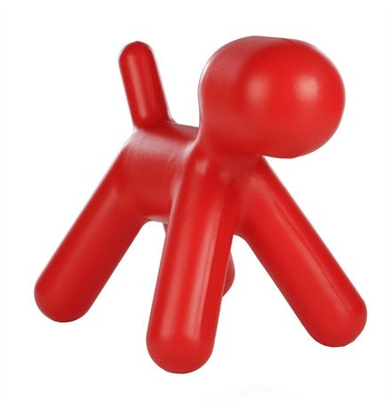 Taburete Puppy Rojo