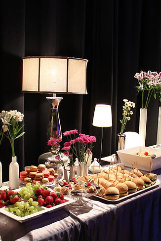 Events catered by Lila Buffet Syling