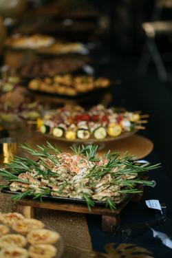 Holiday Appetizers Lila Buffet Styling (