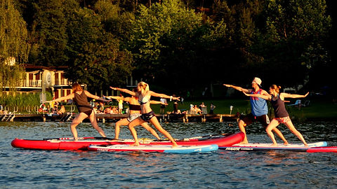 SUP Fit am Wörthersee