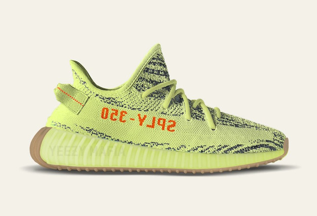 Adidas Yeezy Boost 350 v2 \u0027Semi Frozen Yellow