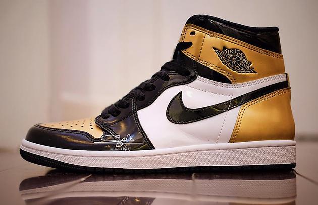 f550c1fe8e97 Air Jordan 1 High OG NRG Gold Toe - Sneakest