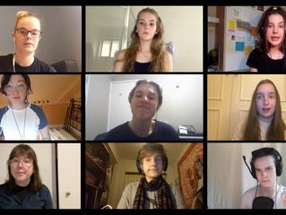 Virtual Vocal Ensemble during lockdown!
