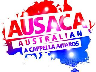 Vocalocity in AUSACA - The Australian A Cappella Awards