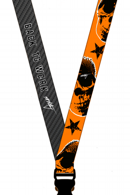 Lanyard - Back to Work - Scrappy