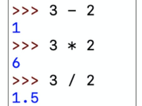 Python Class, Week 2!