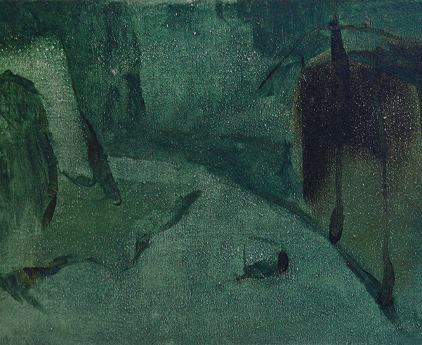The Green Lesson (after Chardin)