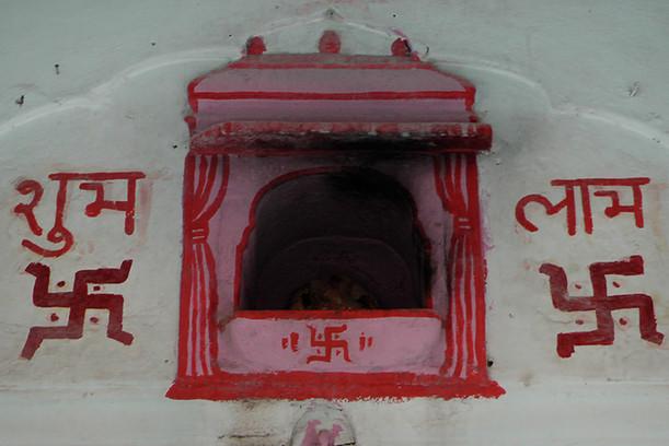 Swastik Temple Jaipur