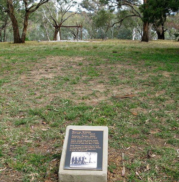 Grub Official Gravestone National Sculpture Garden Canberra