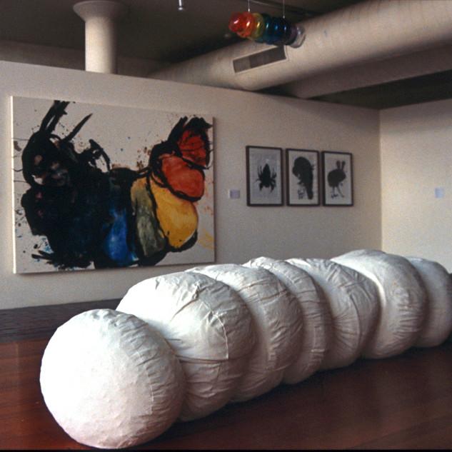 Exhibiton and installation 'Grubbing Around in Oceanic Ground' ANU Canberra