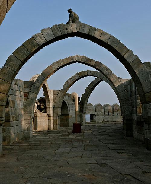 Stick in Plinth Pavagadh
