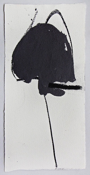 Grey Head on Pole