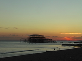 Performance by the Sun and the Ruined Peer in Hove Still, from the film Turner