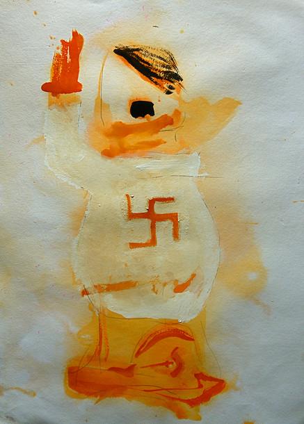 Study for Hitler Fetish Doll Sculptures