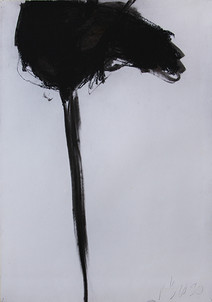 Black Head on long Pole
