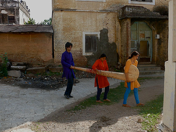 Stick Carried from Temple City