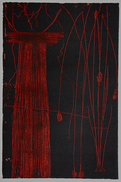 red grass colour etching