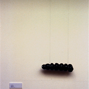 Black Glass Grub, Exhibition Canberra School of Art