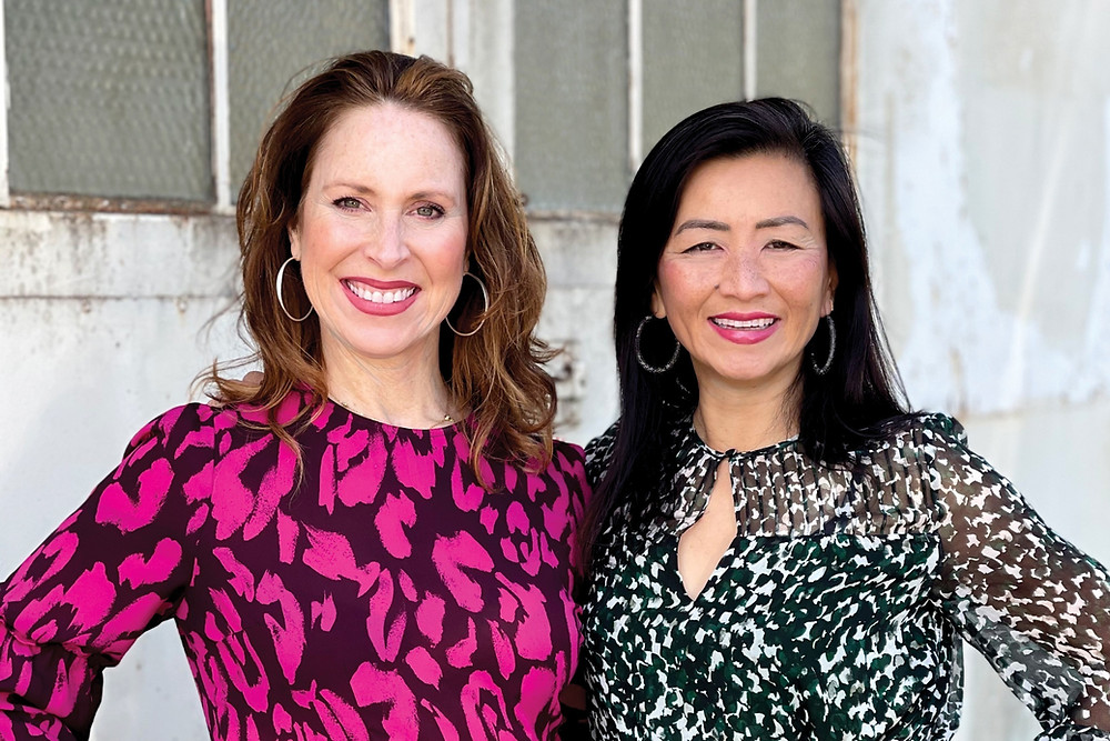 Christine Hildebrand and Wendy Horng Brawer, Co-Founders of Intune Collective | Kick in the Yes Podcast