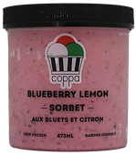 Blueberry Lemon Sorbet