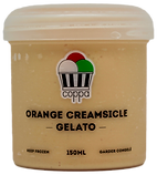 Orange Creamsicle Gelato