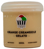 Orange Creamsicle Gelato