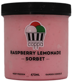 Raspberry Lemonade Sorbet