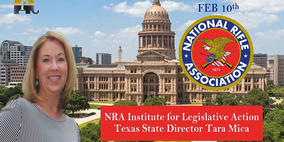 NRA's Texas Legislative Director Tara Mica