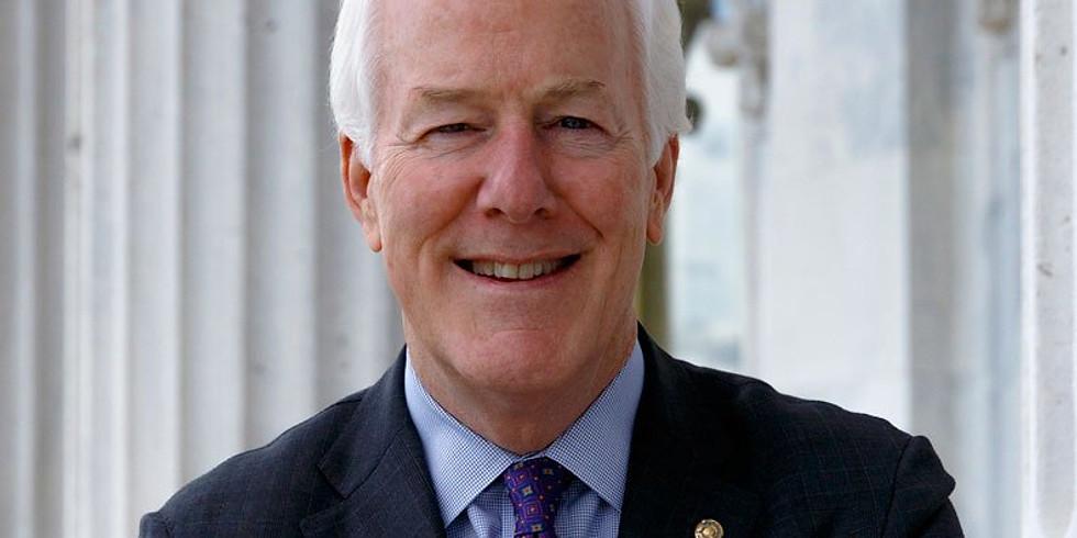 US Senator John Cornyn (reschedule)