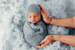 Blue newborn