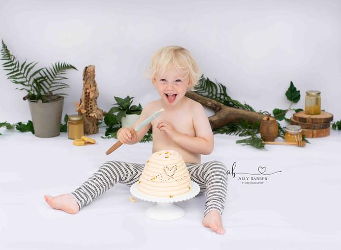 boys cake smash