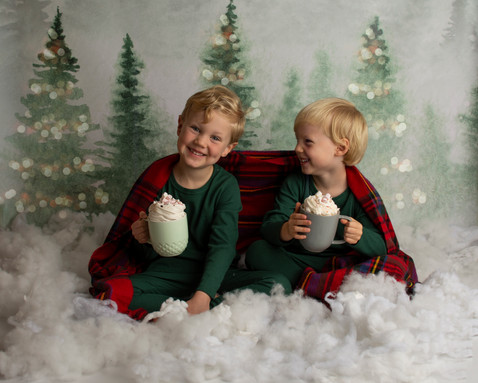 Winter Christmas photos