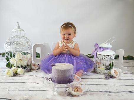 Mobile WestSussex Baby Photographer - Cake Smash. Rose!
