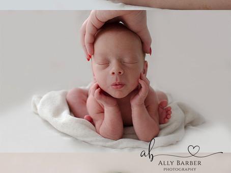 Newborn Safety! WestSussex photography