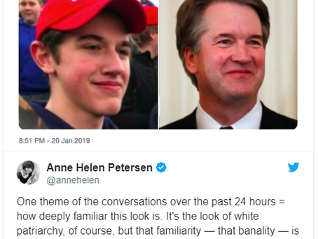 How Kavanaugh and Covington Catholic Are Related
