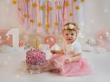 Pretty Unicorn Cake Smash! First Birthday