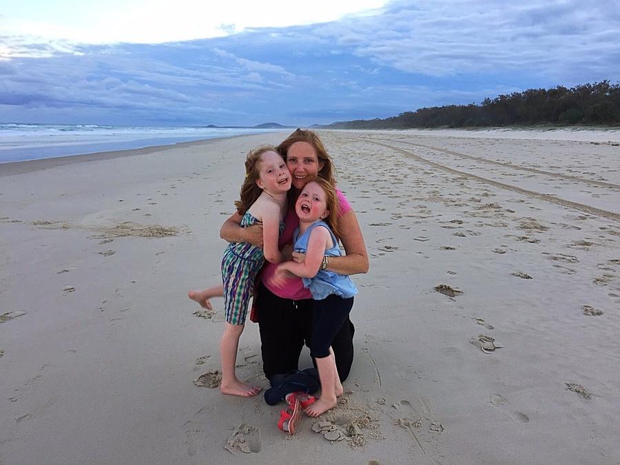 Salt Beach at dusk