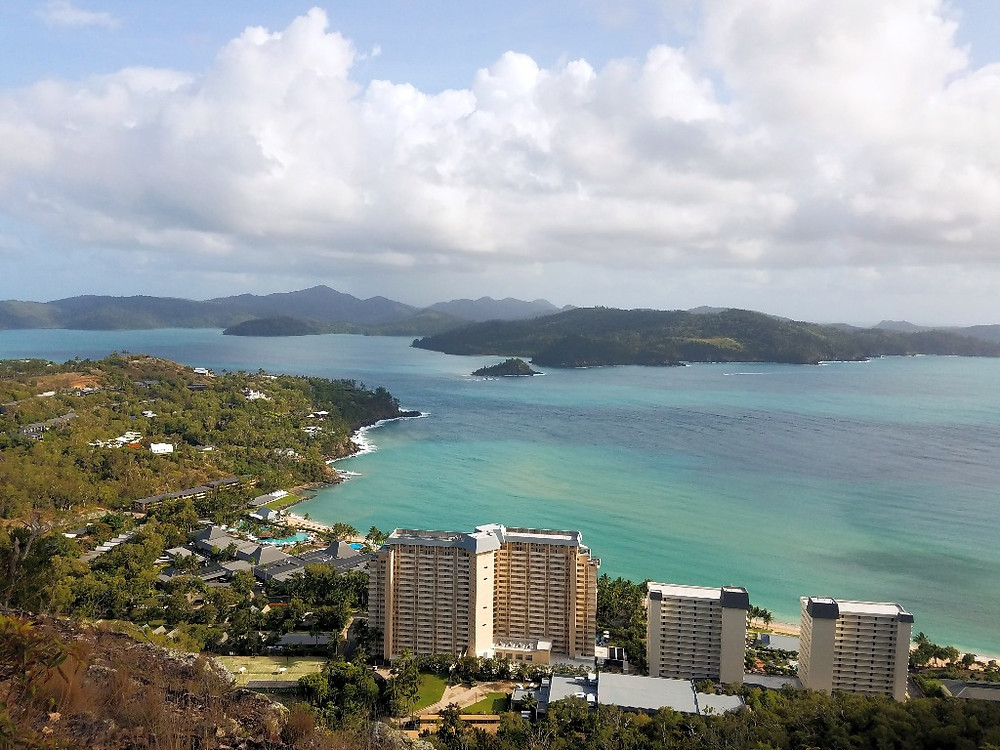 View from Resort Lookout Hamilton Island